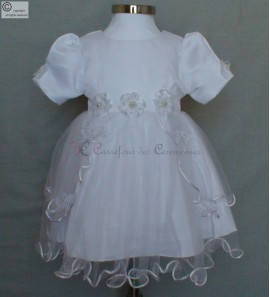 robe bapteme blanche Alice