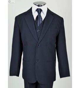 costume bleu marine Evan