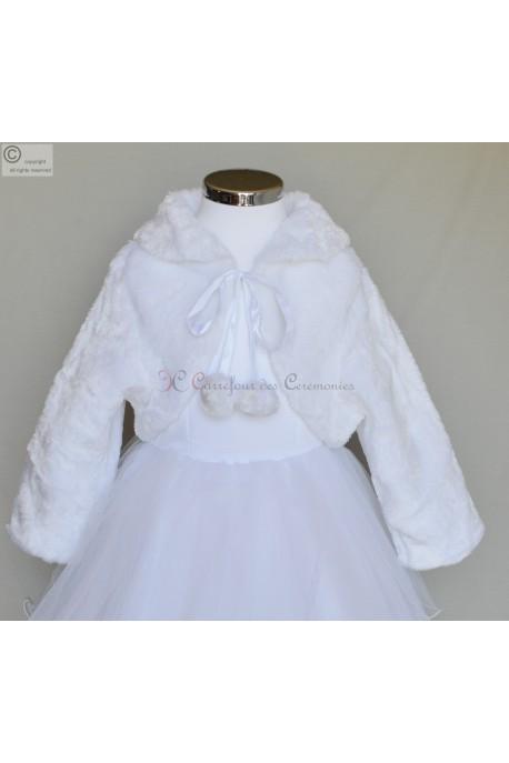 Manteau blanc Ambre