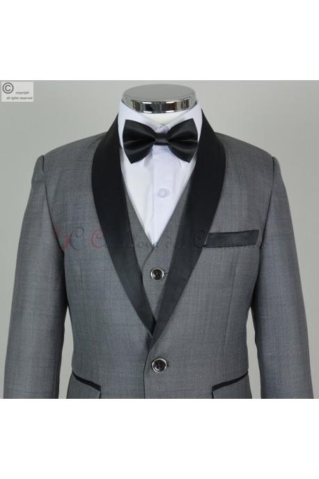 costume gris Franck