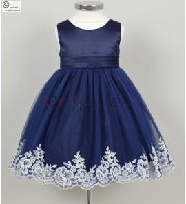 robe petite fille longue Capucine