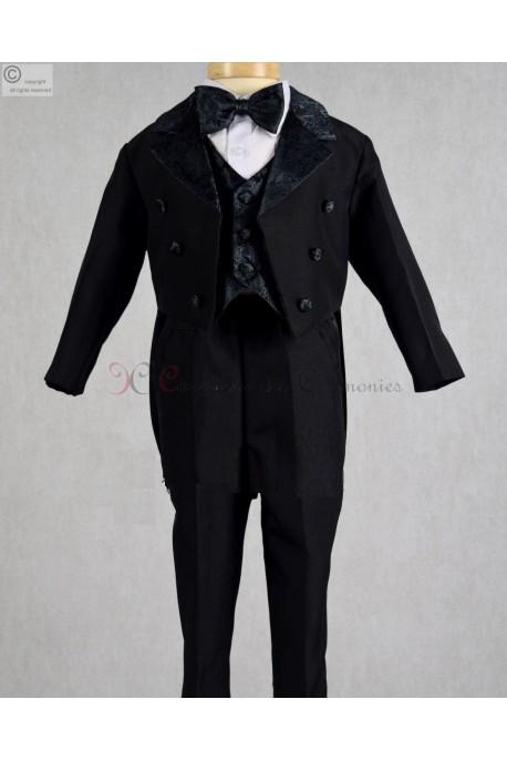 costume queue de pie noir Adan