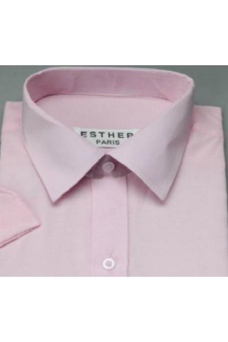 Chemise garçon rose pale