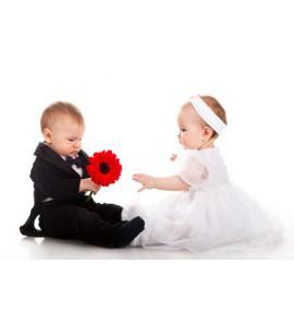 robes mariage bébé (0-24M)