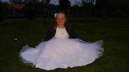 robe de communion emotion
