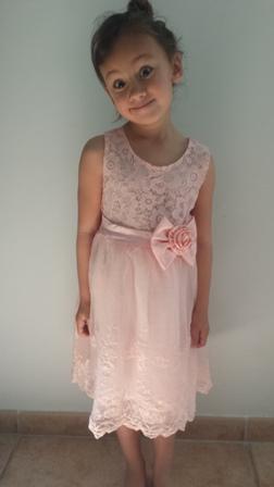robe petite fille printemps ete