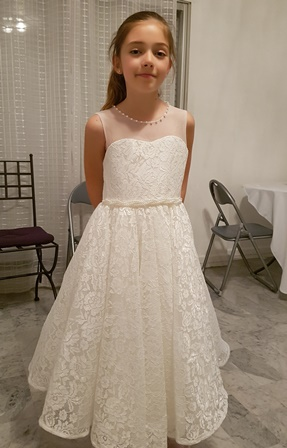 robe demoiselle d'honneur fille tres classe