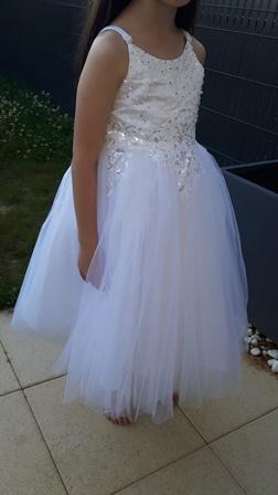 robe petite fille d'honneur
