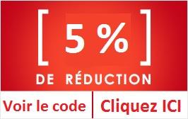 Code promo 5%