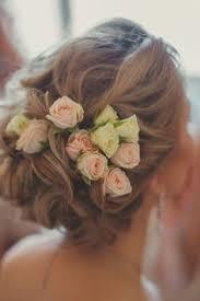 coiffure enfant de rose