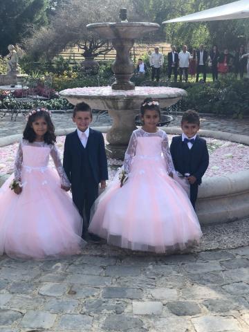 robe et costume de mariage enfant