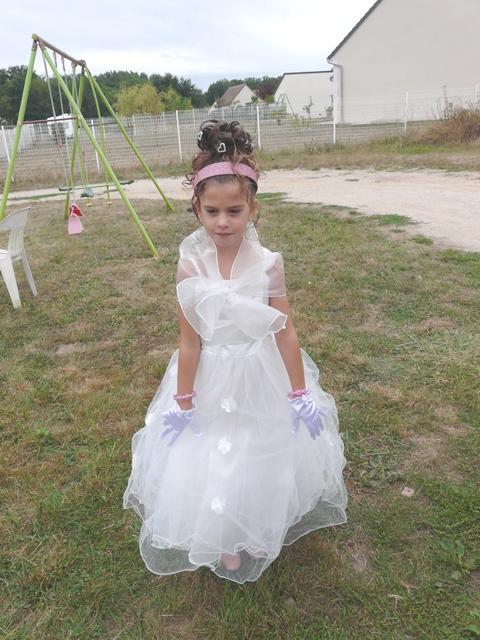 Robe de bapteme fille 5 ans