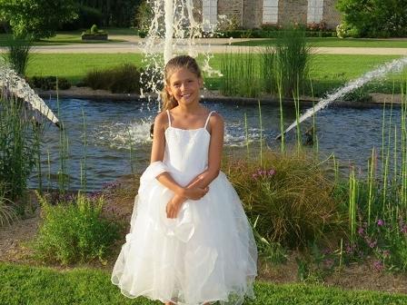 Robe bapteme fille 9 ans